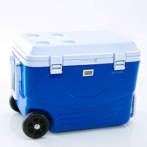 AGQLT Koelbox Outdoor Fresh Box 50L Auto PU Koelbox Medische Drug Koelkast Koude Ketting Transport Box 60,5 * 35,5 * 41.5CM
