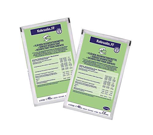 Kohrsolin FF Konzentrat Flächendesinfektion Dosierungsbeutel 5 x 40 ml - begrenzt Viruzid, Bakterizid und Levurozid
