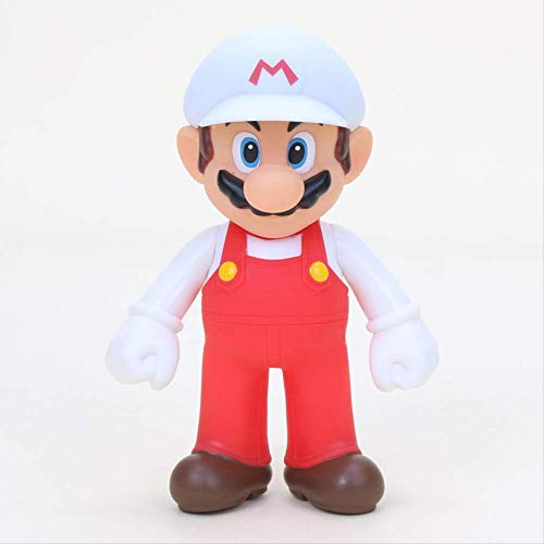 Therfk 15pcs Hot 8~15cm Bros Bowser Super Mario Koopa Yoshi Mario PVC Action Figures Luigi Donkey Kong Model Dolls Ornament Decoration