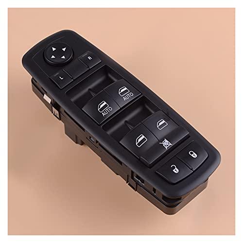 CMEI Interruptor de ventana eléctrica del lado izquierdo Master 68110866 para Dodge Ram 1500 Grand Caravan Town Country 2012-2015