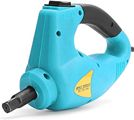 Corded impact wrench Car Repair Electric Impact Wrench 12V 100W Black/Red/Blue Spare For Vehicle : Orange