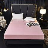 ASDF Wasserdichtes Bettlaken,Chemische Faser Staubdicht Bettdecke Einteilig Matratze Schutzhülle...