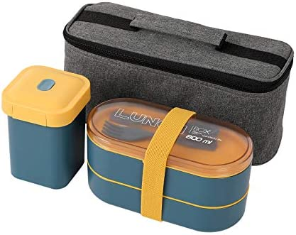 PENGKE Bento Box Adult Lunch box Japanese Bento Boxes For Adults With insulation bag Leak proof product image