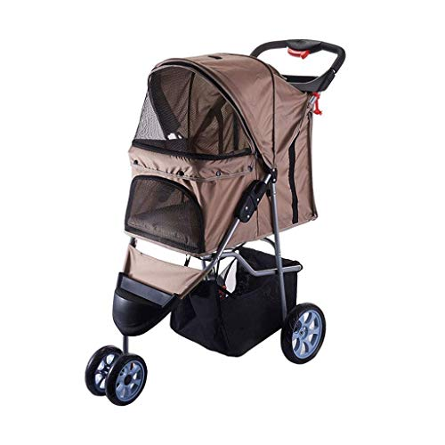 Comfort EFA Buggy Dog Carrier Trolley pushchair Innopet Black//Silver Foldable pet buggy Pet Stroller,IPS-070 pram for dogs and cats.
