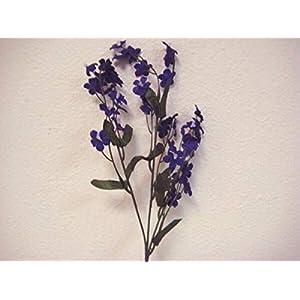 for 12 Sprays Gypsophila Baby Breath Filler Artificial Silk Flowers 18″ Stem 828 Floral Décor Home & Garden – Color is Purple