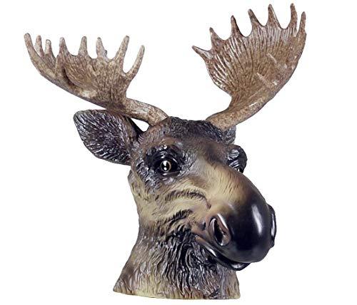Kappe Anhängerkupplung,Origineller und dekorativer Schutz für ihre Anhängerkupplung.Für Jäger und Naturbegeisterte. (Elch)