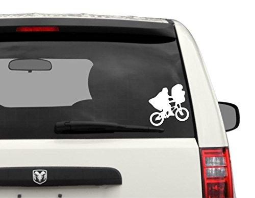 E.T. - Bike - Bumper - Sticker - Automotive - Car - Decal