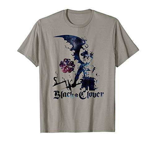 Cool Japanese Anime Fantasy Clover Arts Black Manga Otaku T-Shirt