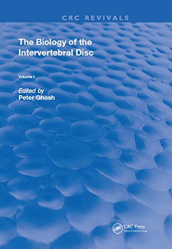 Biology Of Invertebral Disc (Routledge Revivals Book 1) (English Edition)