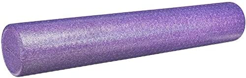 "Amazon Basics High-Density Exercise, Massage, Muscle Recovery, Round Foam Roller, 12"", 18"", 24"", 36"""