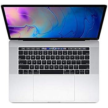 Apple MacBook Pro 15-inch w/ Touch Bar (Mid 2018), 220ppi Retina Display, 6-Core Intel Core i7, 256GB PCIe SSD, 16GB RAM, macOS 10.13, Silver (Renewed)