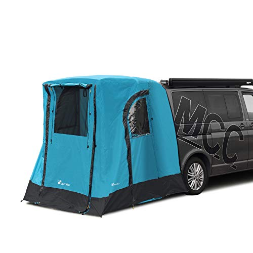deiwo Rear Tent Awning Changing Room Travel Tent Approx. 196 x 200 Suitable for VW T4 T5 T6
