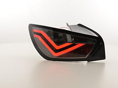 FK Automotive FK achterlichten LED achterlichten achterlichten achteruitrijlichten set zwart FKRLXLSE016007