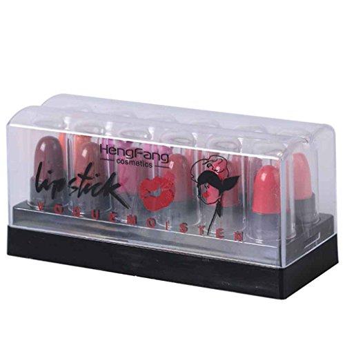 Providethebest 12 colores / Set Mini impermeable labio