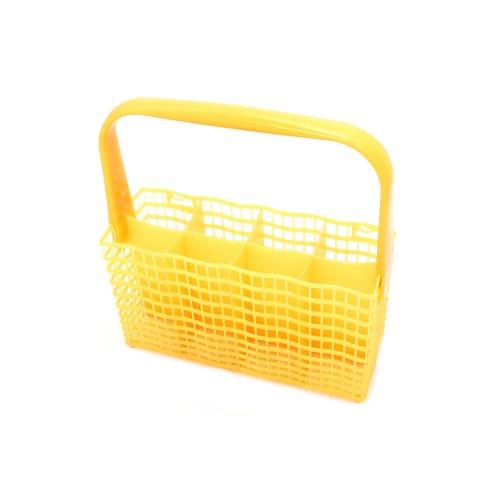 Zanussi 1524746508 bestekmand voor vaatwasser, geel