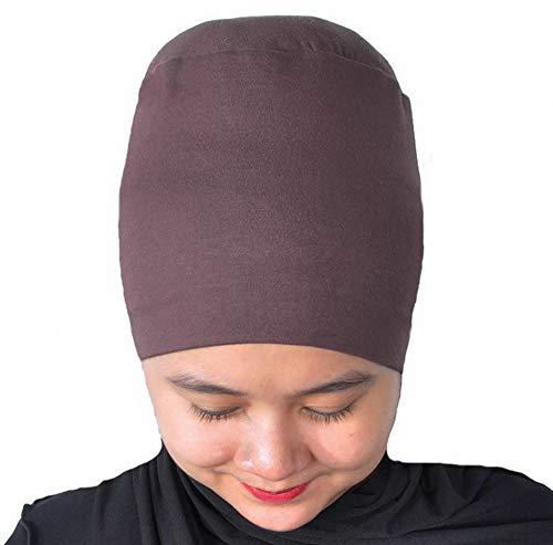 Silk Story Design Handmade Hijab Turban Bun Under Scarf Shawl Chemo Wear Volumizer