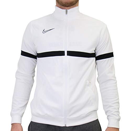 Nike - Giacca Sportiva da Uomo Bianco, Nero, Nero XXL