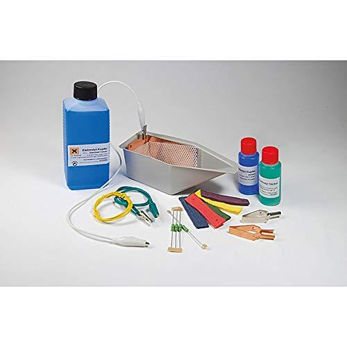 SELVA Handgalvanisier-Gerät selbst echt vergolden (24-Karat) und versilbern, galvanisch durch Elektrolyse (Ergänzungsset)