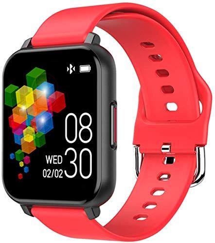 ZHENAO Smart Watch, Pantalla Fina Y Ligera de 1.3 Pulgadas, Inforión de Conteo Secundario, Recordatorio de Llamadas, Pulsera de Juego de Larga Duración, para Android Y Ios. Exquisit