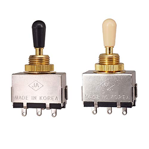 2x Conmutador Selector de Guitarra LP EPI Electric Guitar Partes Reemplazos para Instrumento Musical