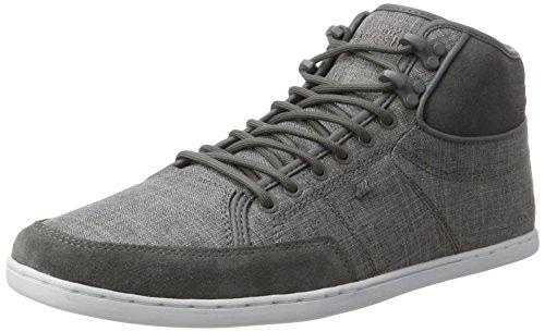 Boxfresh Herren Swapp 3 (PREM) SH SLUB/SDE STL Gry Hohe Sneaker, Grau Grau, 40 EU