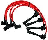 VMS Racing Cables de encendido en rojo para Nissan Sentra SR20DE GA16DE 91 92 93 94 95 96 97 98 99 1991 1992 1993 1994 1995 1996 1997 1998 1998 1998 9