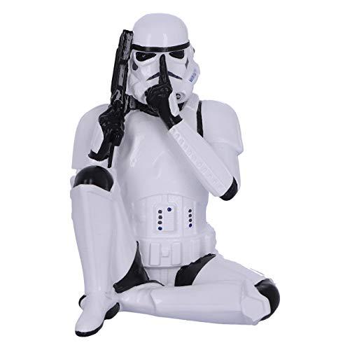 Nemesis Now B4894P9 Original Stormtrooper Three Wise Sci-Fi Speak No Evil, Mehrfarbig, 10 cm