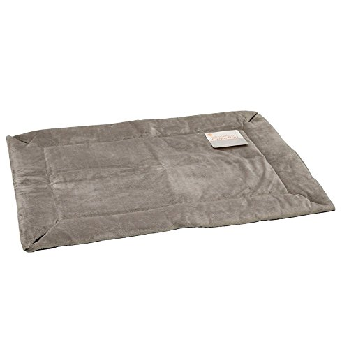 K&H Pet Products Self-Warming Crate Pad Gray X-Large 32 X 48 Inches