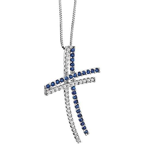 Collar Mujer Joyas comete piedras preciosas de colores clásico Cod. GLB 820
