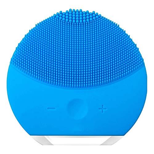 Escova de Limpeza e Massageadora Facial Lina Azul
