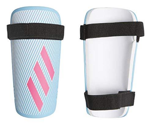 adidas Jungen X LITE Schienbeinschoner für Fußball, Bright Cyan/Shock pink/White, M