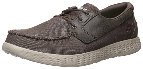 Skechers Performance Men's on-the-Go Glide-53770 Walking Shoe,Chocolate,8 M US