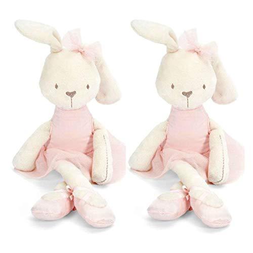 JSJJATQ Peluche 42 cm minúsculo Lindo Suave Peluche Conejito Conejo Juguete niño niña Almohada Mascotas Juguetes 2019 Caliente