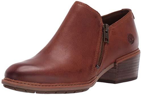 Timberland Women's Sutherlin Bay Shootie Ankle Boot, Medium Brown Full Grain, 7 Medium US