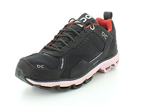 On-Running Womens Cloudrunner Winter Edition Storm Black/Mauve Running Shoe - 6