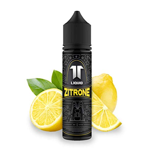 Elf-Liquid ® Zitrone   100% MADE IN GERMANY   Premium E Liquid ohne Nikotin für E Zigarette & E Shisha   10ml E Liquid Vape Aroma in 60ml Flasche zum selber Mischen