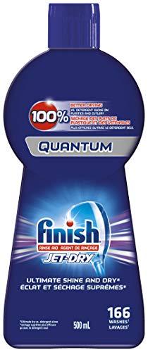 Finish Jet-Dry, Dishwasher Rinse Aid, Quantum, 500ml, Dishwasher Rinse Agent & Drying Agent