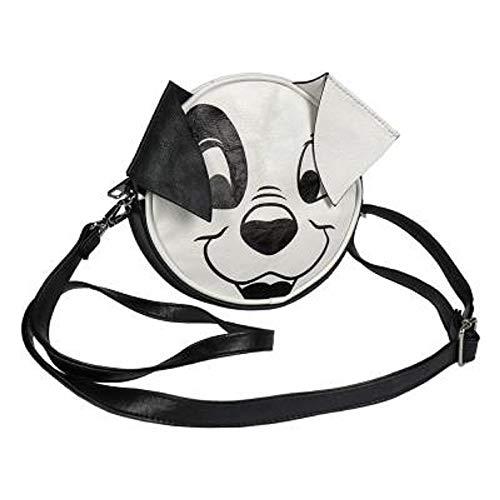 Regalos de Disney para niñas | Bolso redondo con personajes clásicos como Mickey, la gatita Marie de los Aristogatos, el pato Donald y los 101 Dálmatas (101 Dálmatas)
