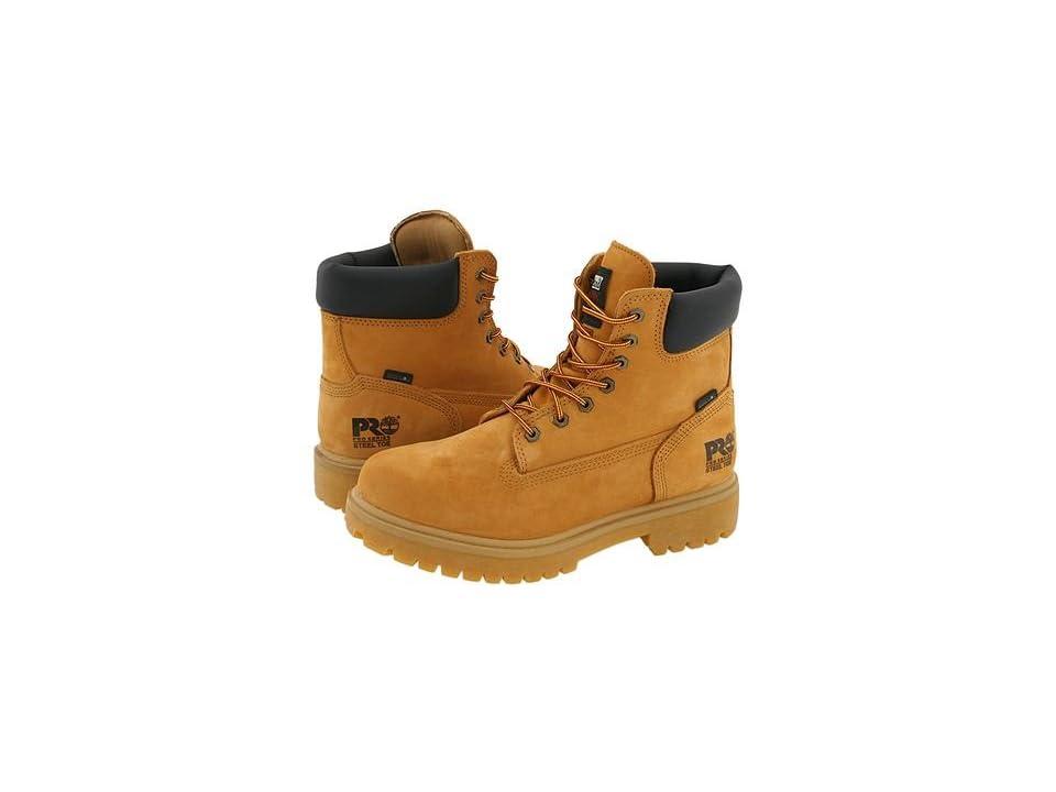 Timberland PRO Direct Attach 6 Steel Toe (Wheat Nubuck Leather) Men
