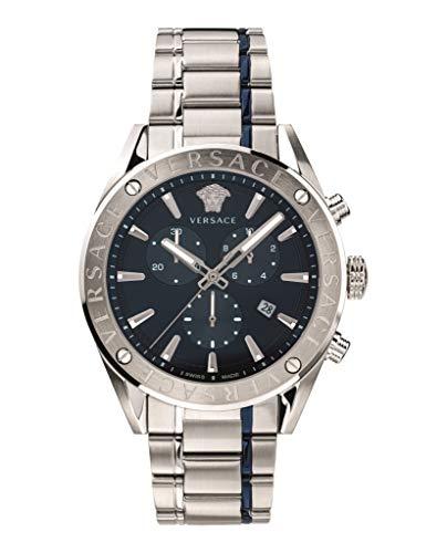 Versace VEHB00519 V-Chrono Heren horloge chronograaf 44 mm