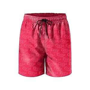 FUEWJFDIW Mens Waterproof Swim Trunks Quick Dry Board Shorts Beach Wear with Pockets