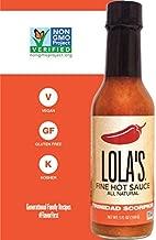 LOLAS FINE HOT SAUCE Sauce Hot Trinidad Scorpion, 5 FZ