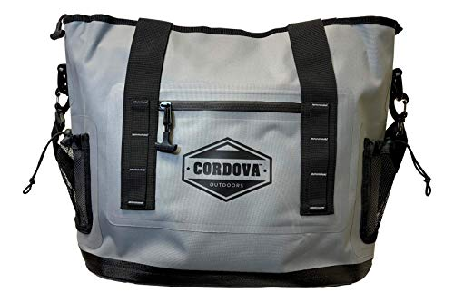 Cordova Outdoors Escape Tote, Perfect Bag for Any Activity from Beach to Climbing, External Dry Pocket for Valuables, Fog