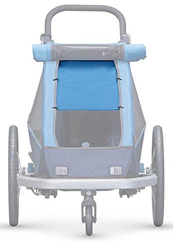 Croozer Unisex– Erwachsene Sonnensegel-3092020603 Sonnensegel, blau, One Size