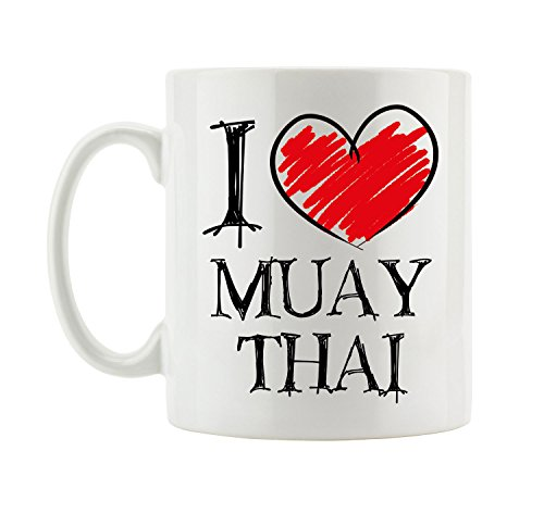 I love Muay Thai Fun Tasse