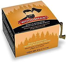 Woodsman - Bálsamo de Crecimiento de Barba y Bigote Extra Fuerte 5% 90g - 90.0
