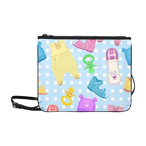 Mädchen Handtaschen Nette Cartoon Baby Adult Jumpsuit Verstellbarer Schultergurt Jungen Umhängetasche Für Frauen Mädchen Damen Leinwand Umhängetasche Umhängetasche Umhängetasche