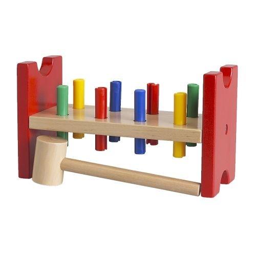 Ikea MULA - Toy hammering Block, Multicolour