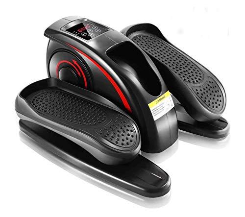 Piernas caseros eléctricos extremidades superior e inferior Integral Trainer eléctrico paso a paso la bicicleta estática Mini Movimiento Walker Caminar máquina de la bici máquina elíptica,Negro