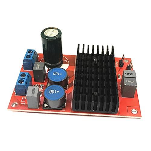 Wutingkong Capteur DC 12V-24V TPA3116 Mono Channel Puissance numérique Auto-amplificateur de l'amplificateur BTL OUT OUT 100W Module 3300 / 25V Condensateur de filtre Condensateur de bricolage